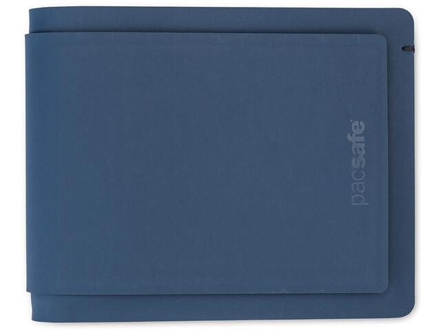 Pacsafe RFIDsafe TEC Bi-Fold Wallet Plus navy blue